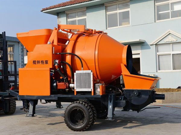 cement mixer and pump price