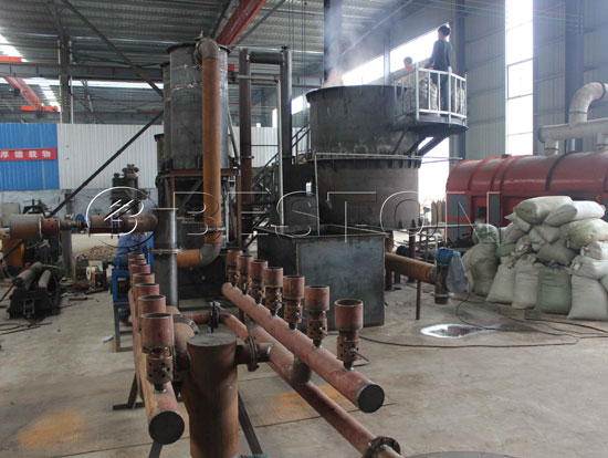 Wood Charcoal Making Machine