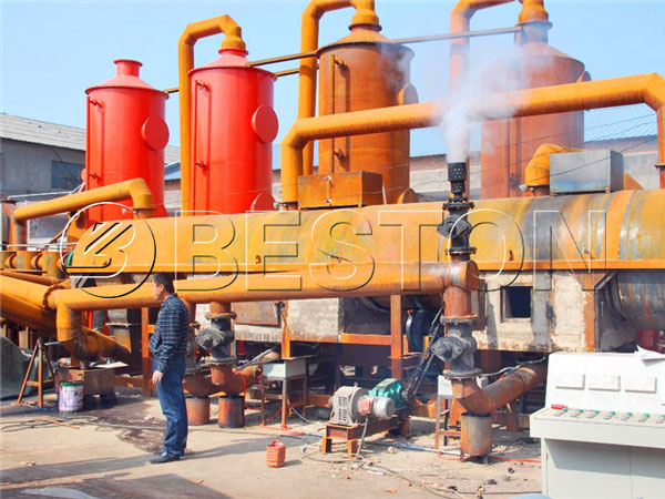 biomass charcoal making machine