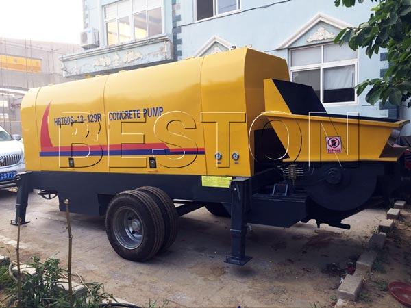ready mixed concrete pump