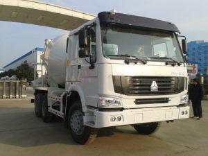 mobile concrete mix truck