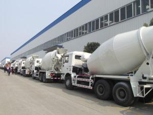 concrete mixer trailer manufacturers