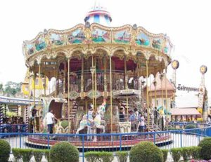 Large Double Decker Carousel