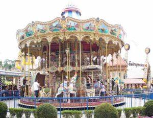 Large Double Decker Carousel