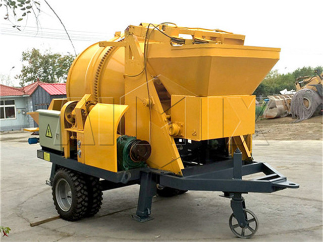 Concrete Mixer Pump cost