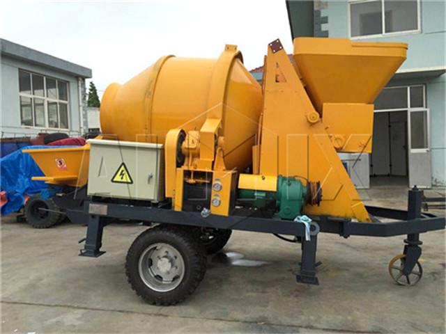 Concrete Mixer Pump manufacture